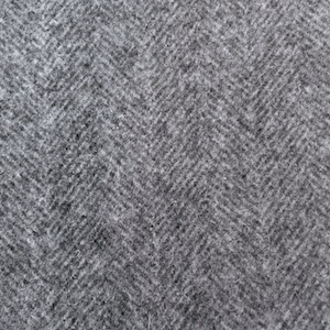 Burel grey herringbone